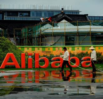 Alibaba plans to raise the range for its initial public offering to $66 to $68 a share, a source confirmed to CNBC.
