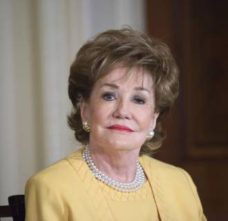 Image: Sen. Elizabeth Dole at the Joining Forces Caregivers Event at the White House on April 11.