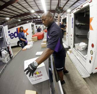 FedEx announced it will hire more seasonal staff to handle an expected increase in packages this holiday season.
