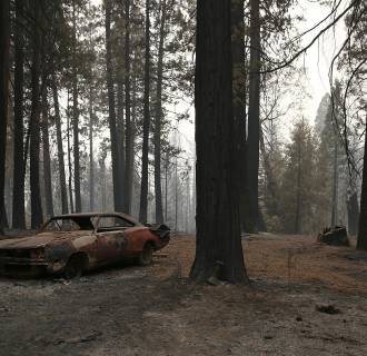 Image: California's King Fire Continues To Burn, Scorching Over 70,000 Acres