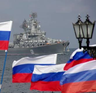 Image: Russian Black Sea Fleet flagship