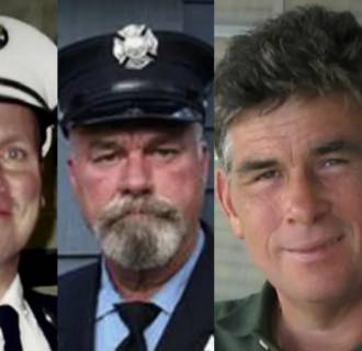 Image: Three firefighters died on the same day from cancer related to Sept. 11, 2001.