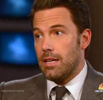Image: Ben Affleck sits down with Brian Williams