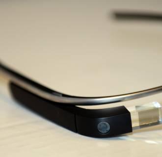 Image: Google Glass on Display