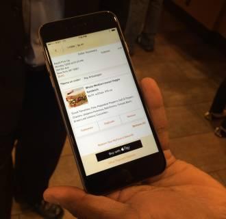 Apple Pay at Panera Bread