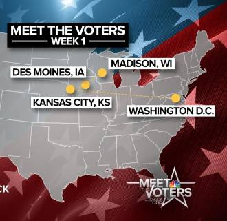 MEET THE VOTERS MAP Week One
