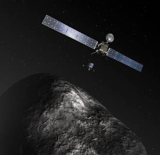 Image: Rosetta and Philae