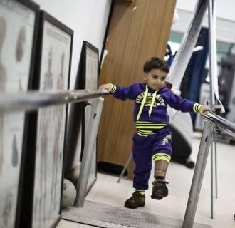 Image: PALESTINIAN-CONFLICT-GAZA-HEALTH