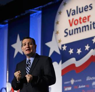 Image: U.S. Senator Cruz delivers remarks at Values Voter Summit in Washington