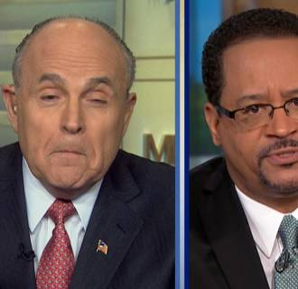 Rudy Giuliani and Michael Eric Dyson on Meet the Press