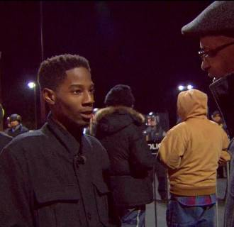 Ron Allen and Rasheen Aldridge in Ferguson, Missouri