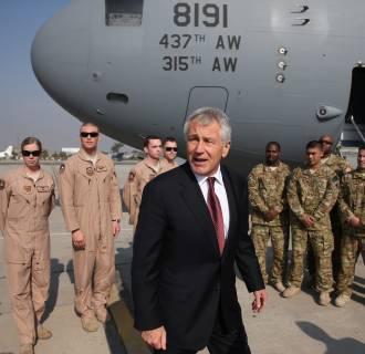 Image: FILE: Defense Secretary Chuck Hagel Resigns