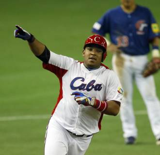 Image: Yasmany Tomas on March 9, 2013