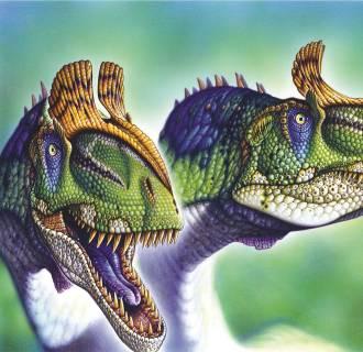 Image: Cryolophosaurus