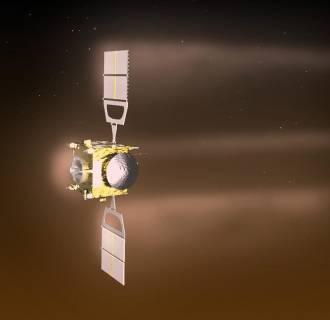Image: ESA probe Venus Express runs out of propellant