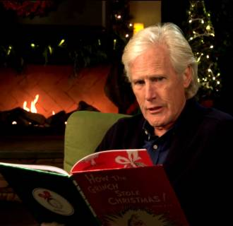 Image: Keith Morrison reads