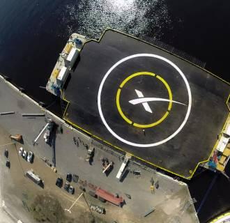 Image: Autonomous spaceport drone ship