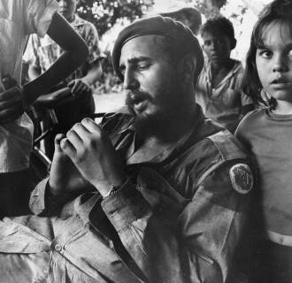 Image: Cuban revolutionary leader Fidel Castro
