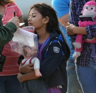 Image: U.S. Agents Take Undocumented Immigrants Into Custody Near Tex-Mex Border