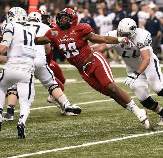 Image: R&L Carriers New Orleans Bowl - Nevada v Louisiana Lafayette