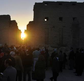 Image: Solstice in Egypt