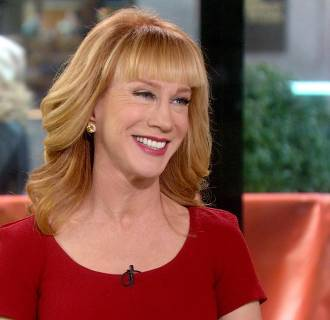 Image: Kathy Griffin on TODAY