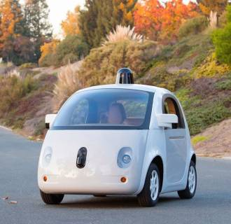 Image: Google's prototype self-driving car