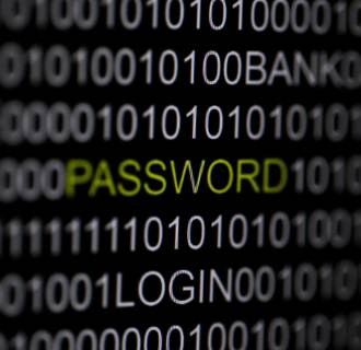 Image: Illustration of the word 'password' pictured on a computer screen