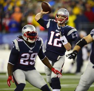 Image: Indianapolis Colts at New England Patriots AFC Championsnhip