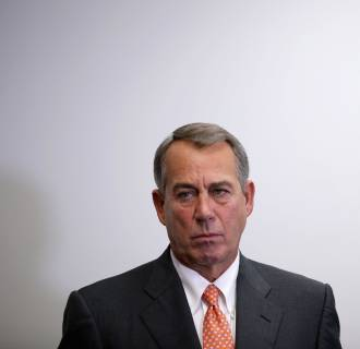 Image: Boehner, House Leaders Brief Press After GOP House Conference