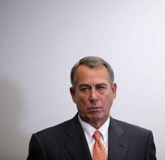 Image: Boehner, House Leaders Brief Press After GOP House Conference