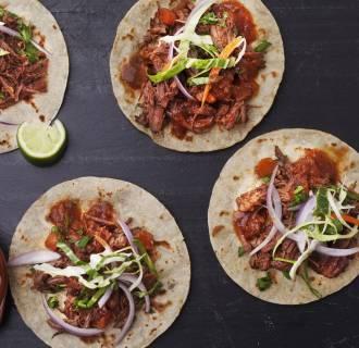 Image: Short-rib tacos from Chef Aaron Sanchez