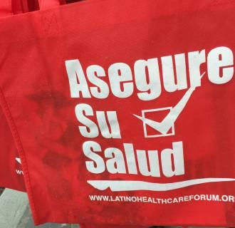 Image: Latino HealthCare Forum tote bags