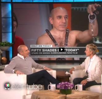 Image: Matt Lauer on Ellen