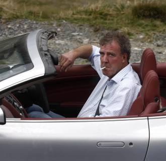 Image: British television BBC presenter of motor show
