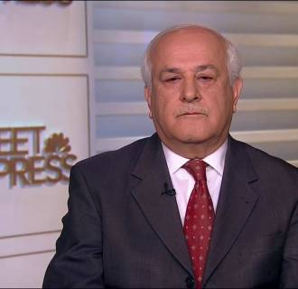 Dr. Riyad Mansour on Meet the Press