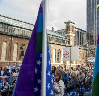Image: Indianapolis Reacts To Indiana's Controversial Religious Freedom Act