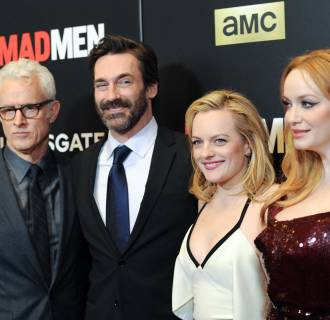 Image: January Jones, John Slattery, Jon Hamm, Elisabeth Moss, Christina Hendricks