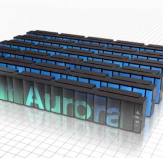 Image: Aurora sueprcomputer