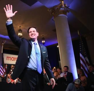 Image: Marco Rubio Launches Presidential Bid In Miami