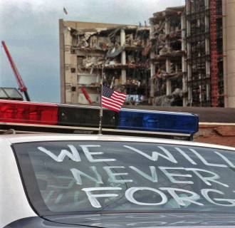 Oklahoma City Bombing Photo AP