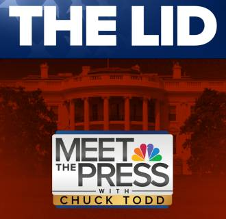 The Lid Graphic for Meet the Press in Square form