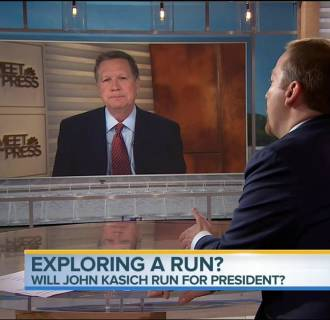 Governor John Kasich of Ohio on Meet the Press 041915