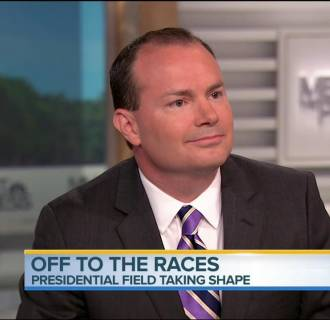 Sen. Mike Lee on Meet the Press 041915