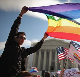 Image: Supporters of same-sex marriage