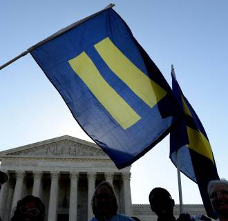 Image: Supreme Court Hears Arguments In Historic Marriage Equality Case