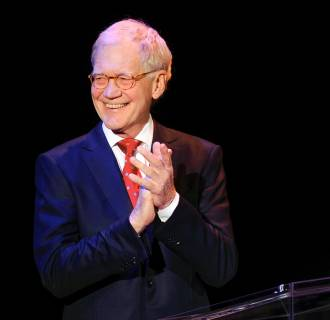 Image: David Letterman on March 2, 2015