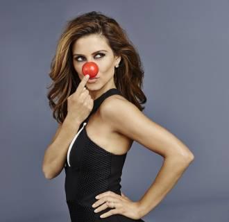 Image: Maria Menounos participates in Red Nose Day