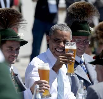 Image: GERMANY-US-G7-SUMMIT-BILATERAL