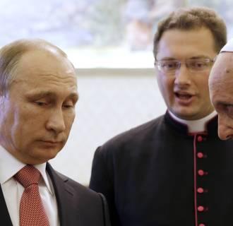 Image: Pope and Putin